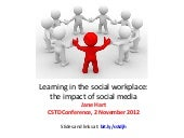 Learning in a social workplace: the...