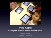 iPad Apps: Collaboration & Comprehe...