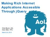 Making Rich Internet Applications A...