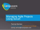 Project Management With Scrum