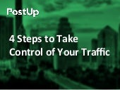 4 Steps to Take Control of Your Traffic