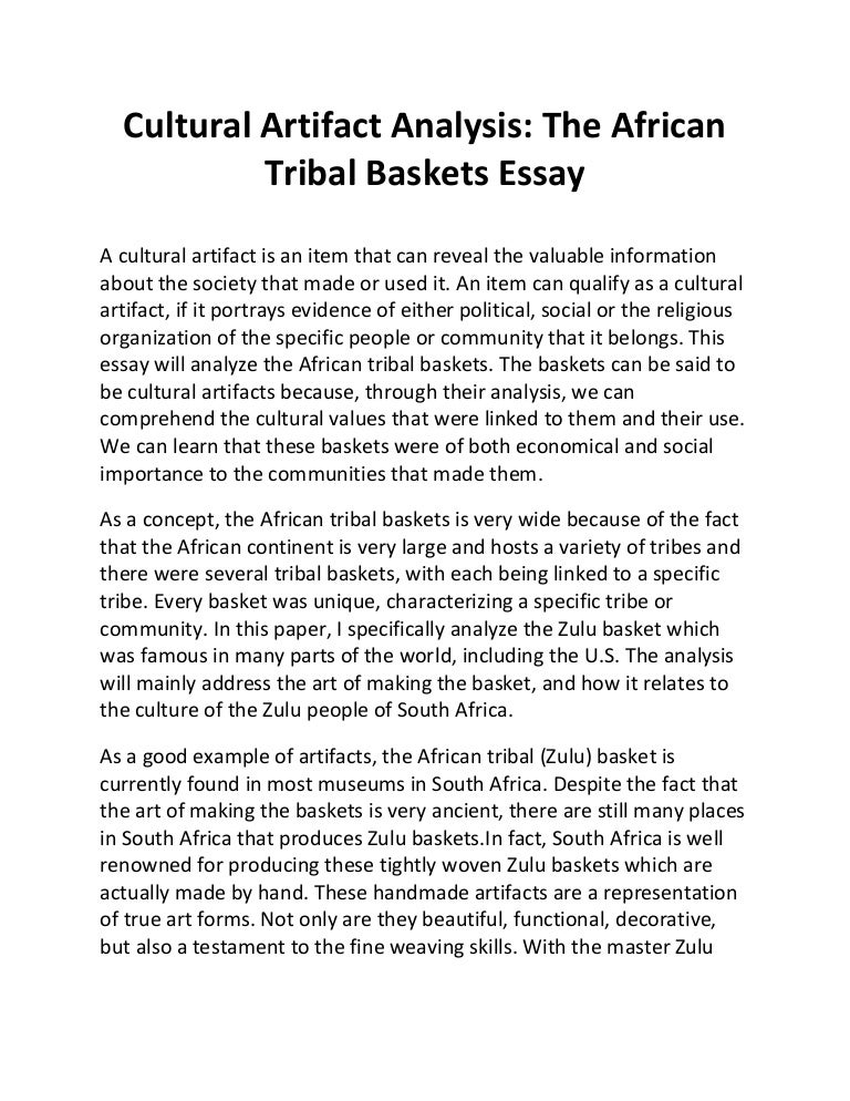 How to write a cultural criticism essay