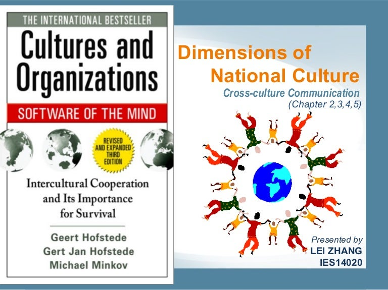 Cultural Dimensions