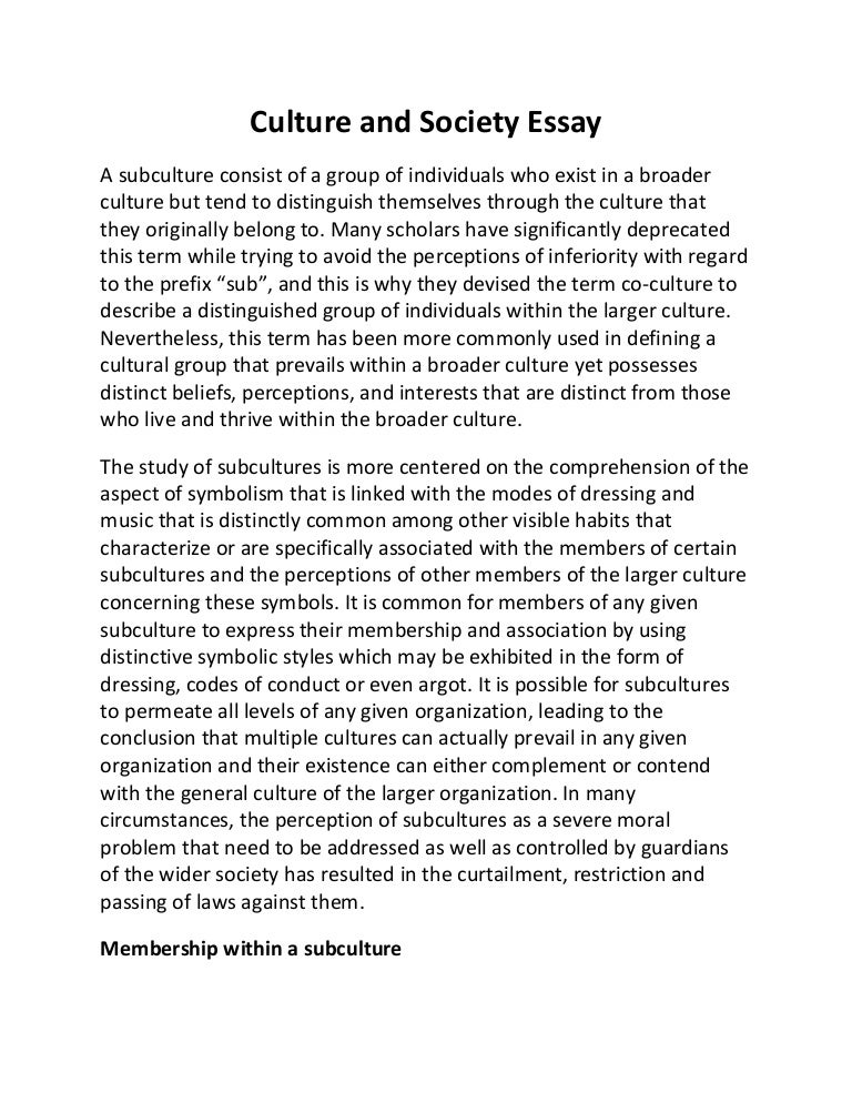 Informational essay about a cultural custom and tradition