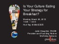 Is Your Culture Eating Your Strategy for Breakfast?