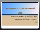 Cumbrera maritza. universiad  latin...