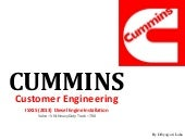 Cummins Customer Engineering Presentation
