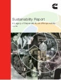 Cummins 2009 Sustainability Report