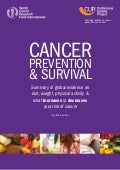 Cancer Prevention & Survival