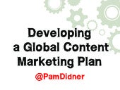 Engineering A Global Content Marketing Plan