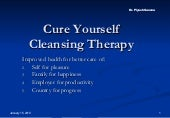 Cure yourself Through Cleansing The...