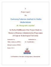 Currency futuers in india
