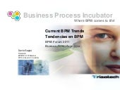 Current bpm trends   tendencias en bpm