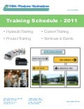 Current Training Schedule