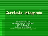 curriculo integrado