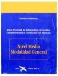 Currículo Educativo del Nivel Medio - MINERD1995