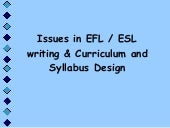Curriculum And Sylabus Design