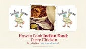 Curry Chicken - Indian Food Recipe