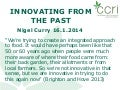 Innovating from the Past (Nigel Curry)