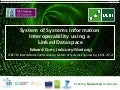 System of Systems Information Interoperability using a Linked Dataspace