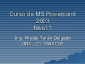 curso de MS PowerPoint