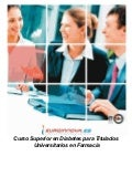 Curso homologado diabetes farmacia