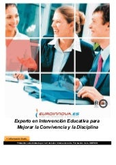 Curso intervención educativa para c...