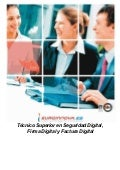 Curso seguridad firma factura digital