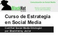 Curso certificado de social media strategist