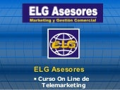 Curso On Line De Telemarketing Elg ...