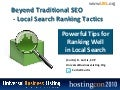 Local Search Ranking Tactics - More Than Just SEO