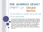 The Gladrags Legacy: Chapter 12- Ha...