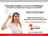 Consumer Insights en el Marketing: ...
