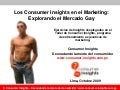 Consumer Insights en el Marketing: Explorando el Mercado Gay