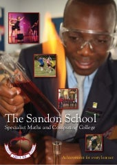 The Sandon School Brochure 2009