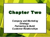 Customer  Relationship And  Strategic  Planning   Marketing