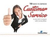 10 Ways to Improve Customer Service