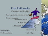 Customer Services and Fish Philosophy