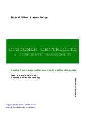 Customer centricity 2013 english