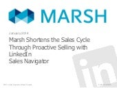 Marsh Shortens the Sales Cycle with LinkedIn Sales Navigator