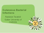 Cutaneous Bacterial Infections