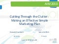 Cutting Through the Clutter - Marketing Planning for Multifamily