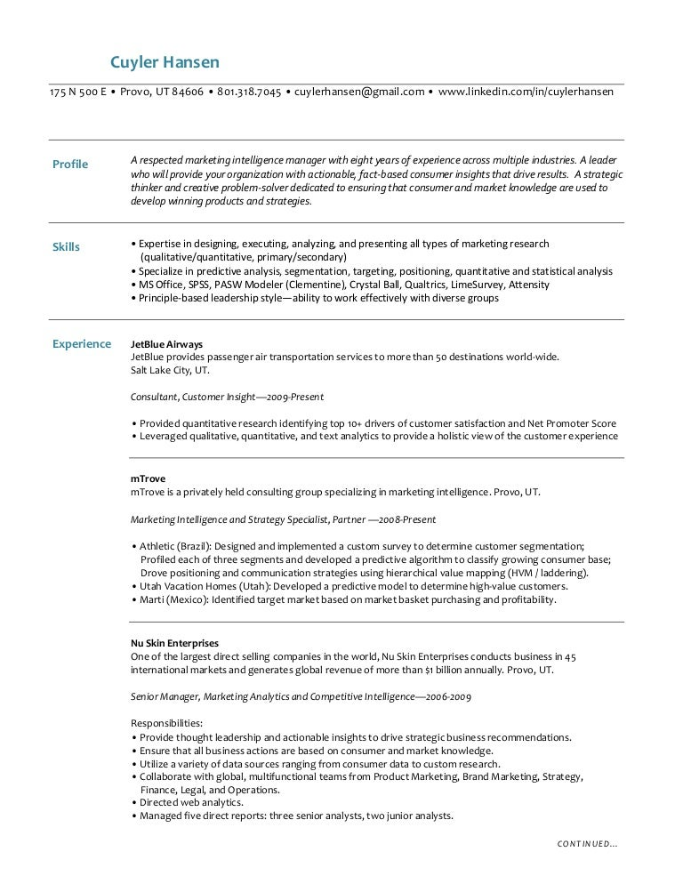 Nice Insight Manager Resume Elaboration - Administrative Officer ...