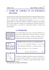 Cambio de variables de las integral...