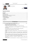 CV in English, Long Form