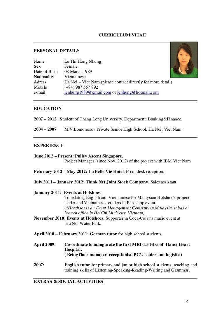 sample resume for receptionist samples hotel jobs farhan from pakistan sample resume format curriculum vitae happytom