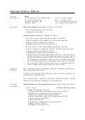 Curriculum Vitae in English