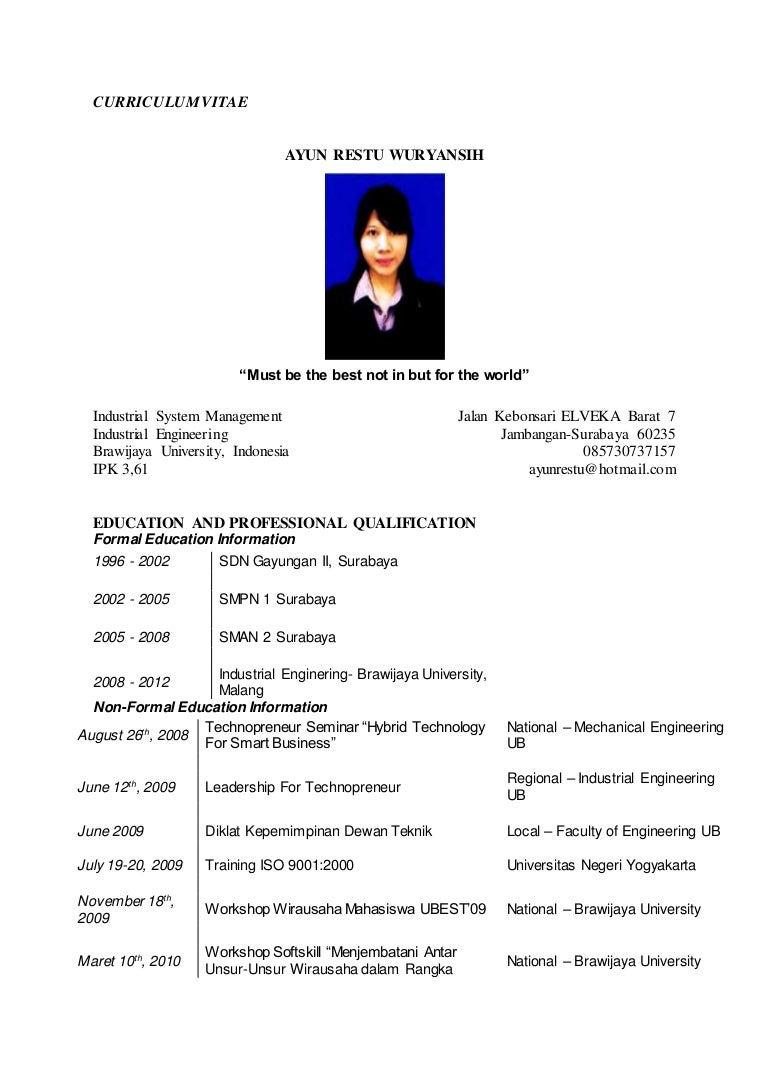 Resume Untuk Lepasan Spm Brad Erva Doce Info