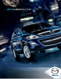 2012 Mazda CX9 Crossover SUV brochure, provided by Naples Fort Myers Florida dealer