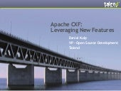 Apache CXF - New Features